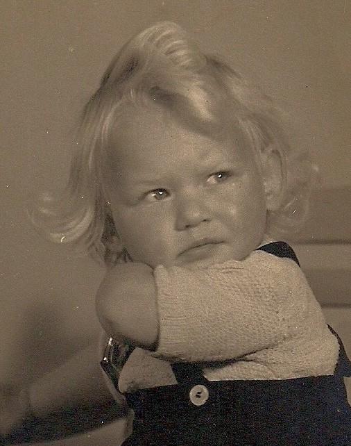 Karin at age 2